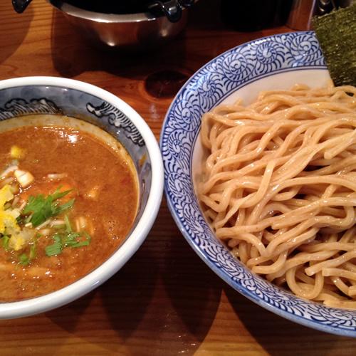 道玄坂マンモス 濃厚つけ麺(胚芽麺)