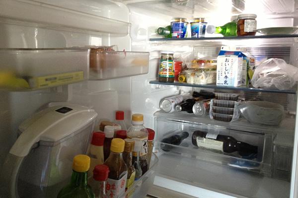 タカバシ家の冷蔵庫