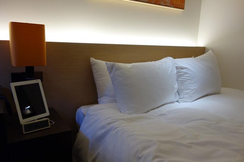 大き目のベッド