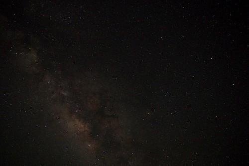 星空ってよりも宇宙って感じ