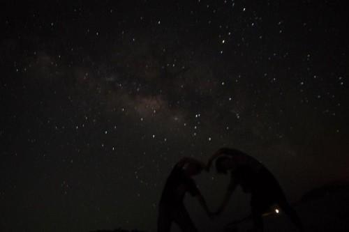星空のハート