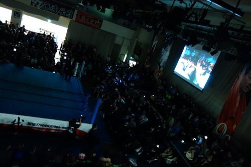 試合前アタック映像