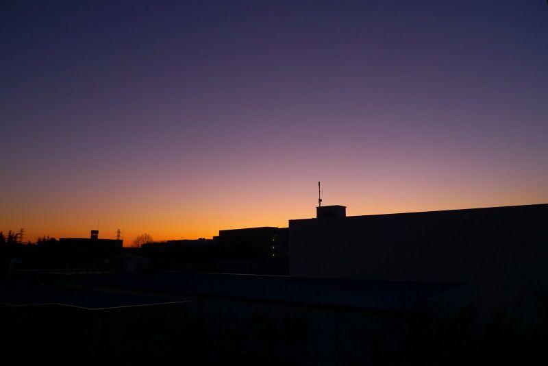世田谷の夕焼け