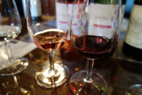 グレイスワインで試飲