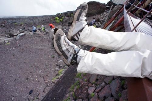 登山で壊れた靴