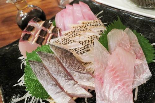島魚 刺身