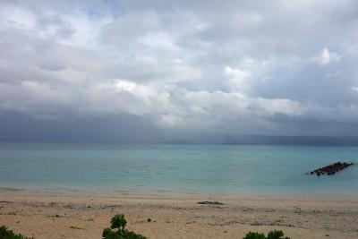 鳩間島の浜