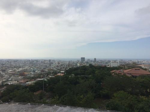 首里城からの眺め iPhone5s