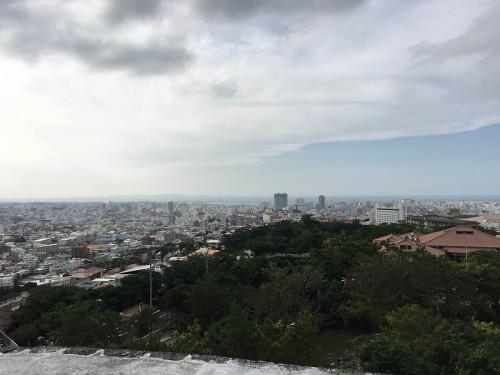 首里城からの眺め iPhone6s