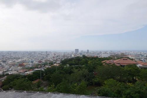 首里城からの眺め RX100M2