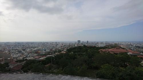 首里城からの眺め XperiaZ5
