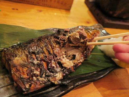 トロ鯖(580円)