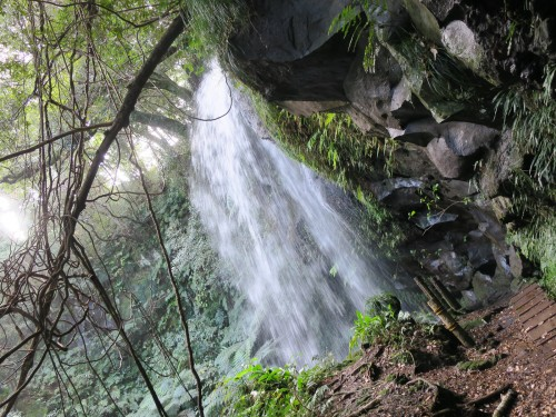 八丈島 裏見ヶ滝