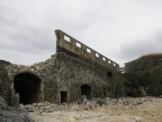 燐鉱採掘場跡 1