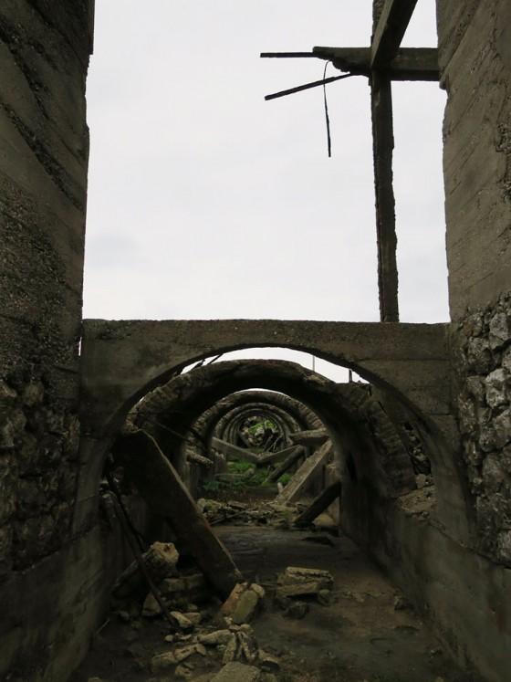トロッコのトンネル 3