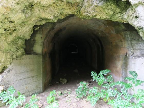 トロッコのトンネル??