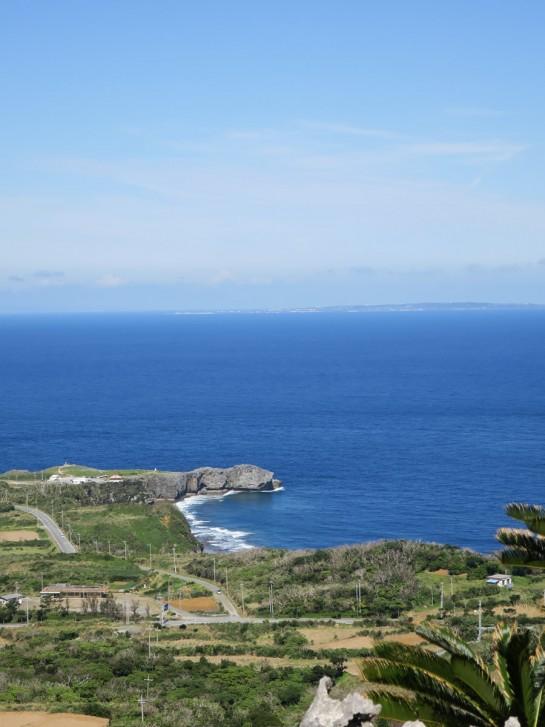 辺戸岬から与論島