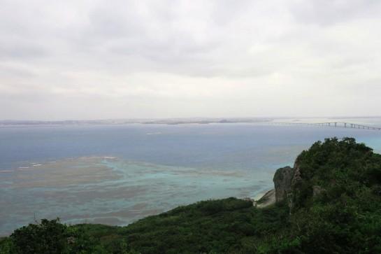 牧山展望台から