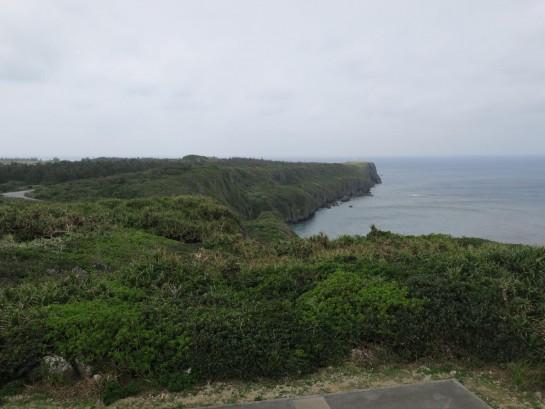 フナウサギバナタ展望台からの眺め