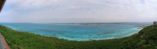 竜宮展望台からの眺め パノラマ