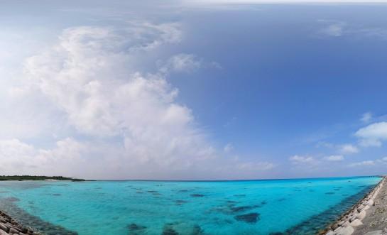 下地島の海と空