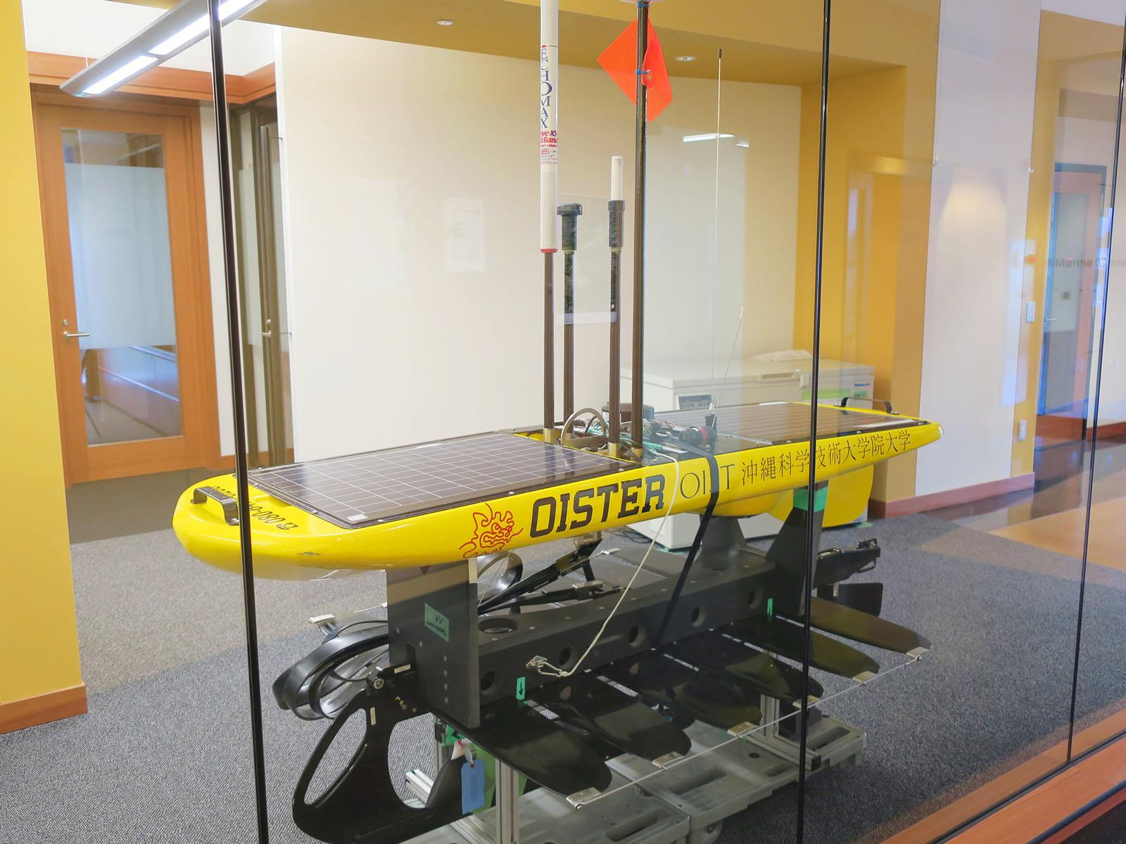 台風の目に自漕するマシン