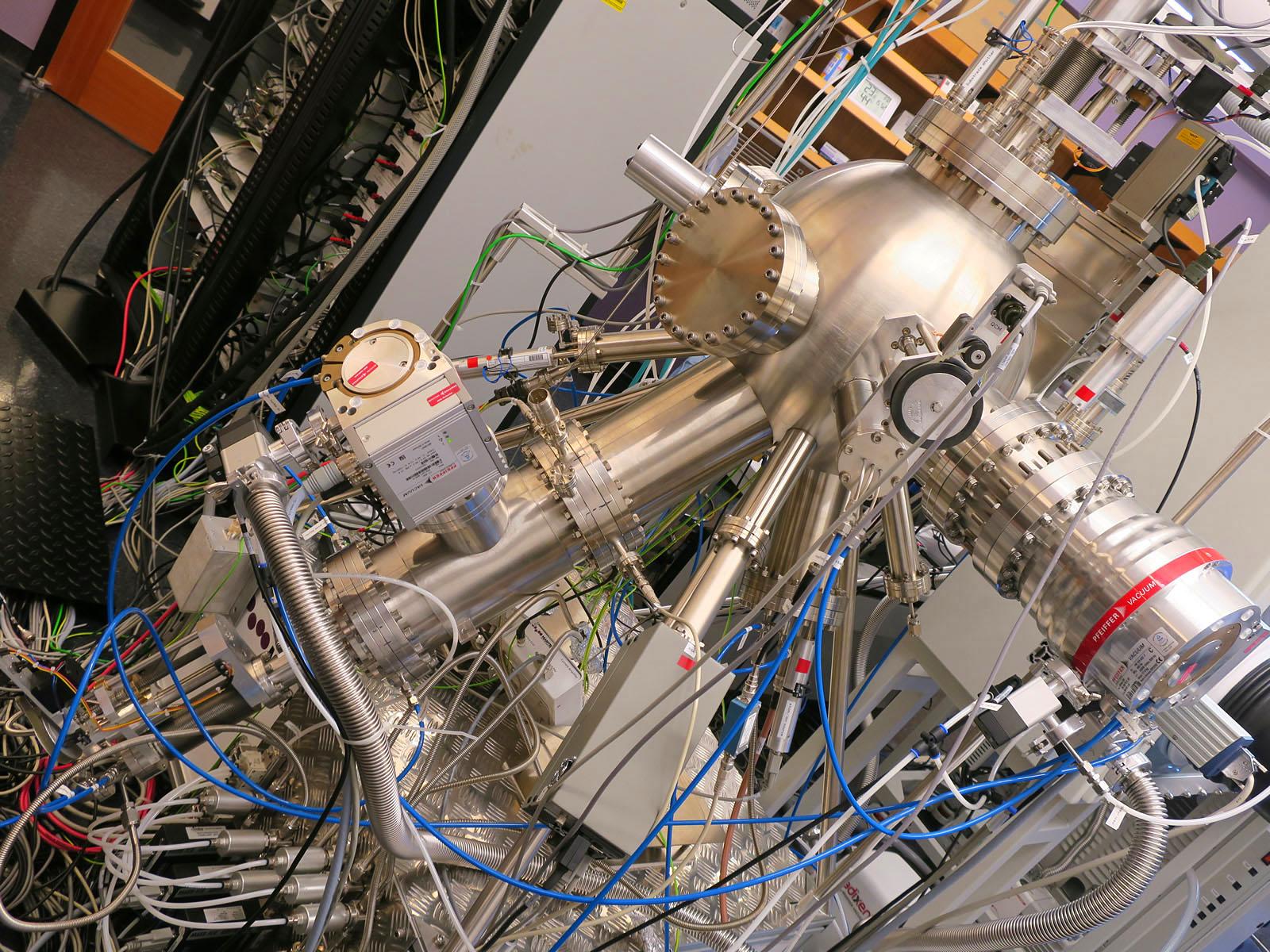 ナノ粒子を作る機械