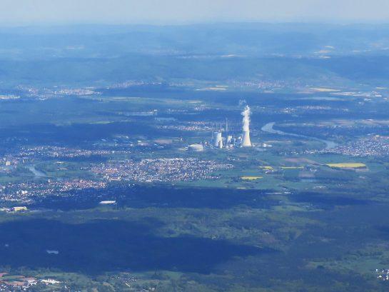 フランクフルトの原子力発電所