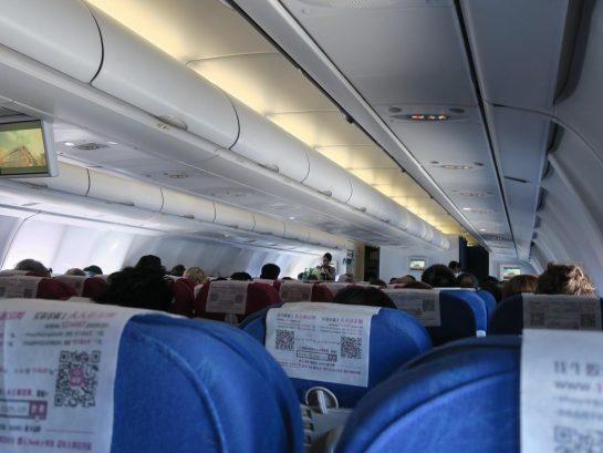 中国東方航空 機内の様子
