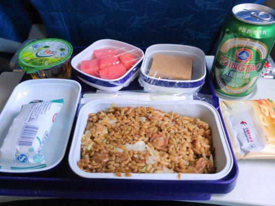 中国東方航空 機内食 ランチ