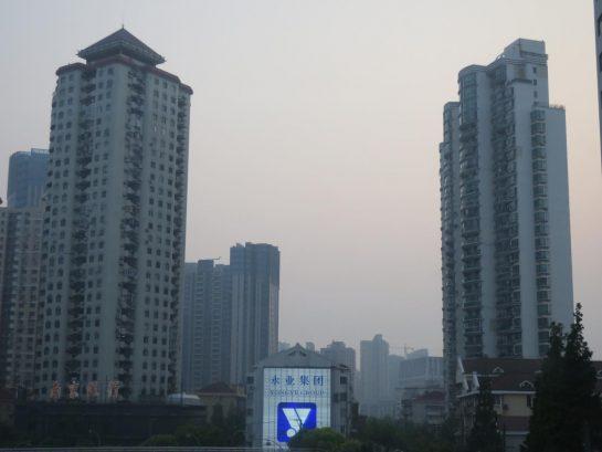 中国の都会的な建物