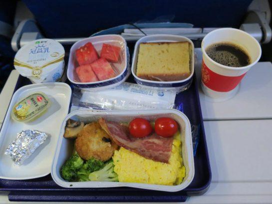中国東方航空 機内食 ディナー
