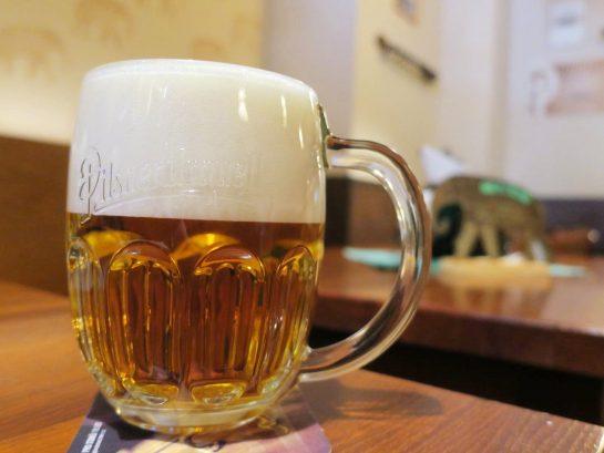 黄金の象のビール