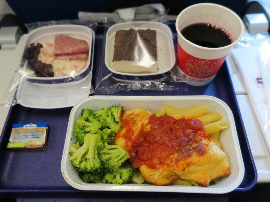 中国東方航空 機内食 モーニング