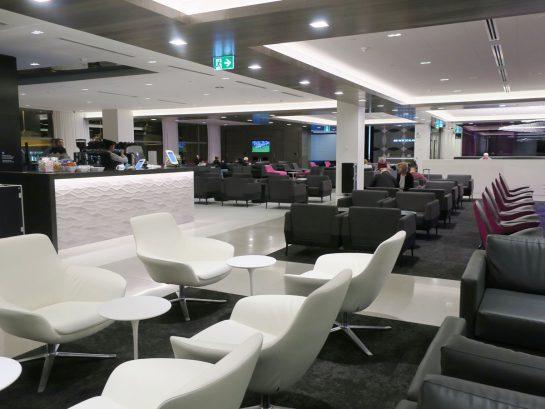 ニュージーランド航空ラウンジ