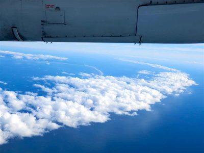 ゴールデンビーチと雲