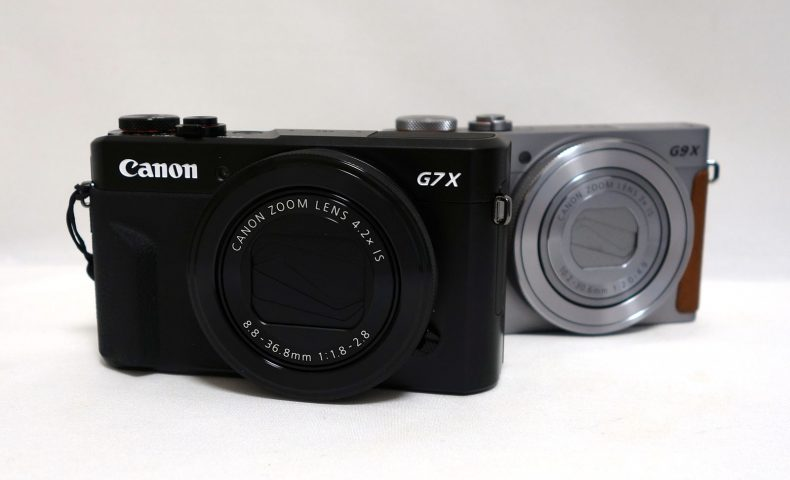G7X MKII と G9X