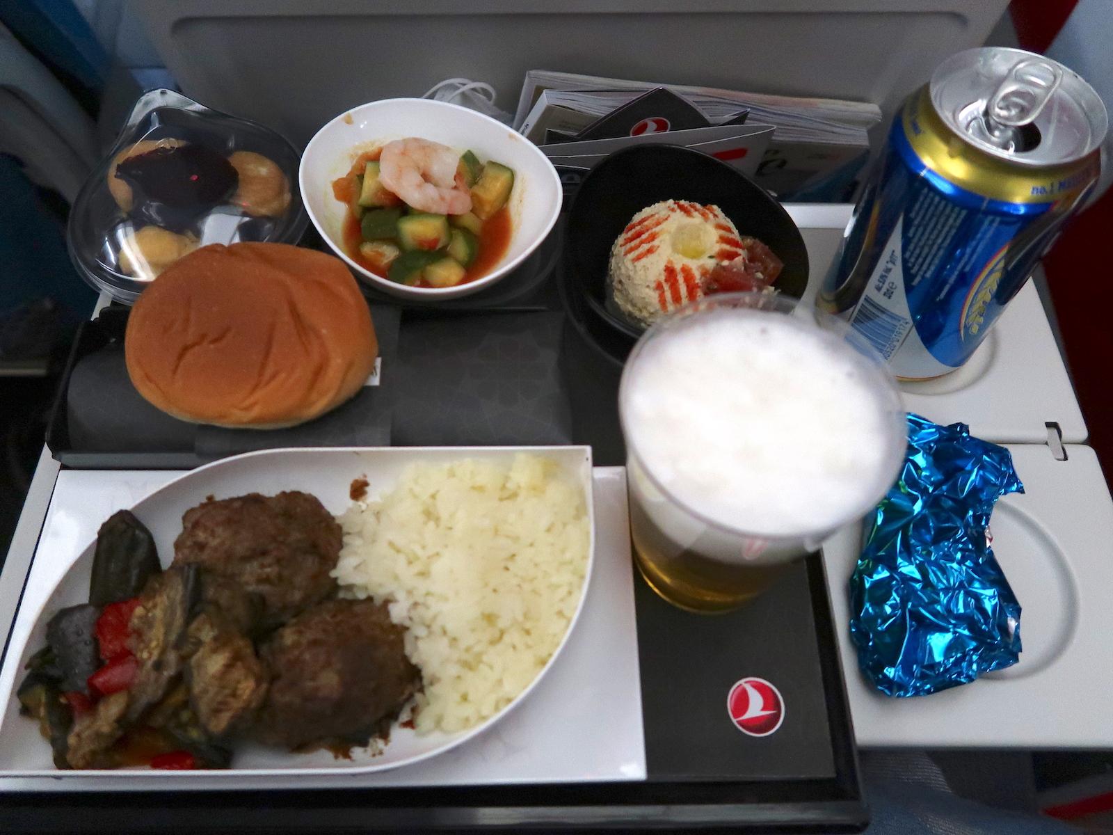トルコ航空 機内食
