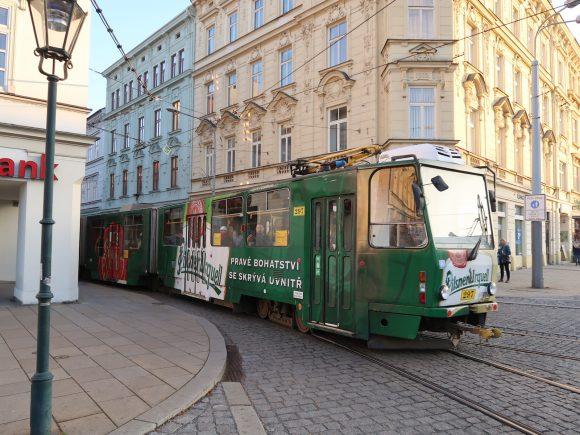 ピルスナーウルケルの路面電車