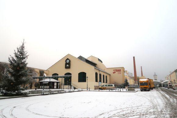ピルスナー・ウルケルの工場