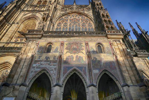 聖ヴィート大聖堂の壁画