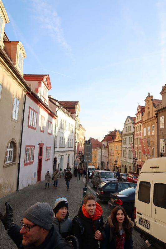 プラハの街歩き
