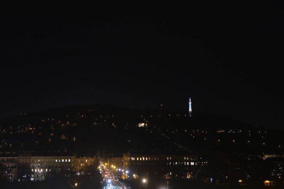 テレビ塔が見える
