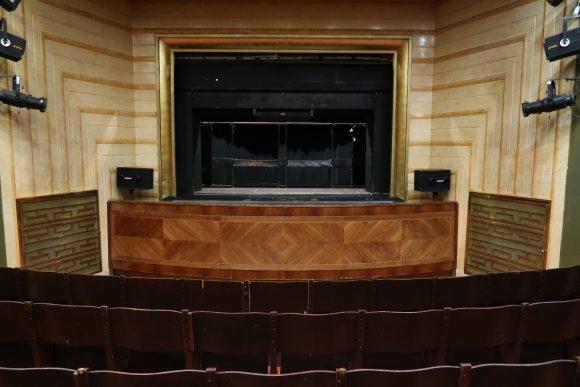 国立マリオネット劇場 舞台