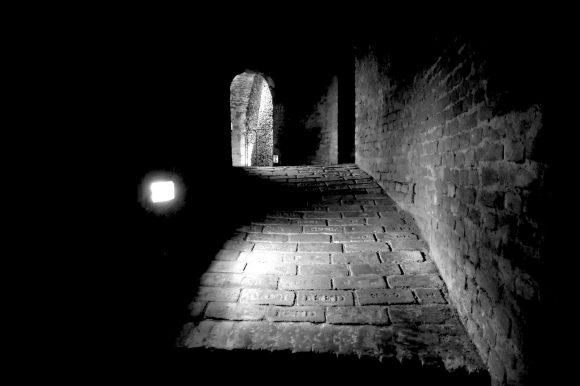 ブルノ 聖ヤコブ教会の地下の納骨堂