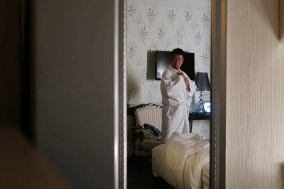 5つ星ホテルに泊まる