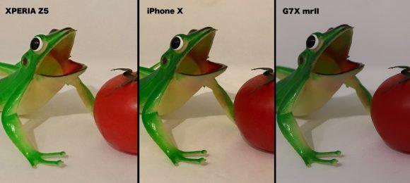 XPERIA vs iPhone X 比較