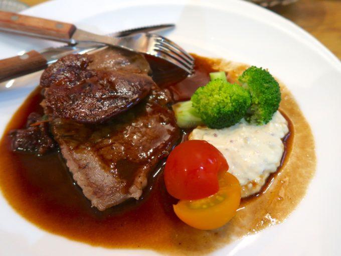 最高級石垣牛 ヒレ肉でロッシーニ風