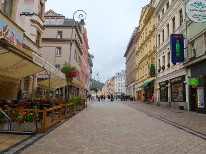 カルロヴィ・ヴァリ(Karlovy Vary)の街並み