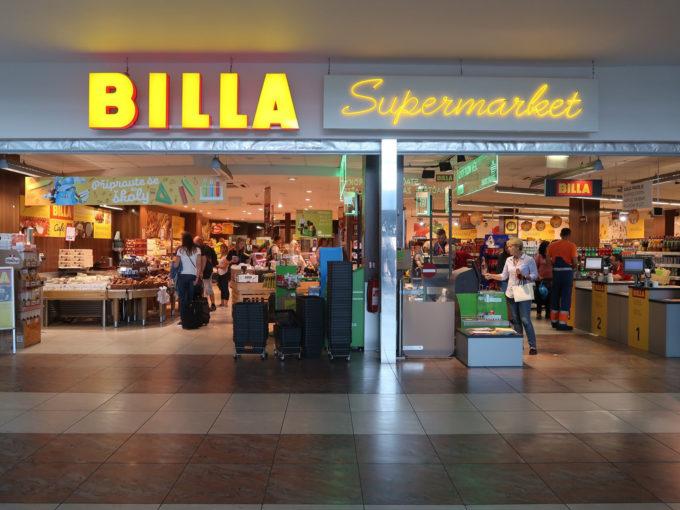 BILLA プラハ国際空港店